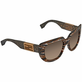 Fendi FF 0031/S 7YQCC 52 Baguette Ladies  Sunglasses
