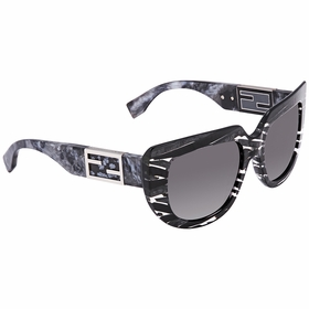Fendi FF 0031/S 7YRHD 52 Baguette Ladies  Sunglasses