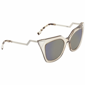 Fendi FF 0060/S MSQ 52 Iridia Ladies  Sunglasses