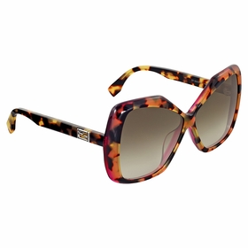 Fendi FF 0092/S D4Y\DB Baguette Ladies  Sunglasses