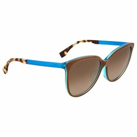 Fendi FF 0095/F/S DVU\J6 Logo Ladies  Sunglasses