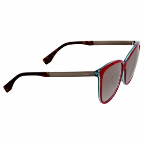 Fendi FF 0095/F/S E0C\YE Logo Ladies  Sunglasses
