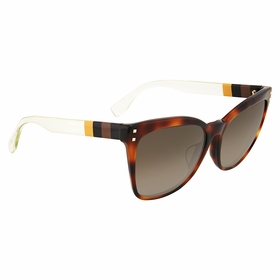 Fendi FF 0098/F/S E6Z\J6 Pequin Ladies  Sunglasses