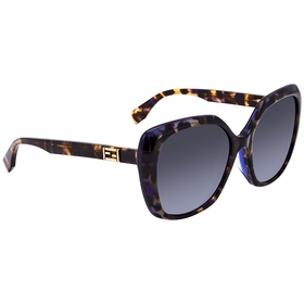 Fendi FF 0107/F/S D53/HD Baguette Ladies  Sunglasses