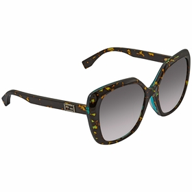 Fendi FF 0107/F/S D59/EU Baguette Ladies  Sunglasses