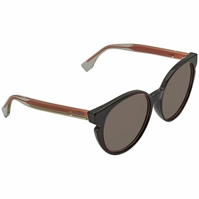 Fendi FF 0142/F/S N7A/X1 -55 Fendi Lines Ladies  Sunglasses