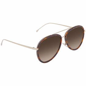 Fendi FF 0155/S V4Z/CC 57 FF0155 Ladies  Sunglasses