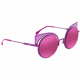 Fendi FF 0177/S QZH -53 Eyeshine Ladies  Sunglasses