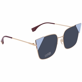 Fendi FF 0191/S 000 A9 55 Lei Ladies  Sunglasses