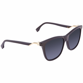Fendi FF 0199/S 807 -55 Cube Ladies  Sunglasses