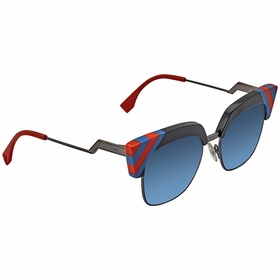 Fendi FF 0241/S PJP/08 -50 Waves Ladies  Sunglasses