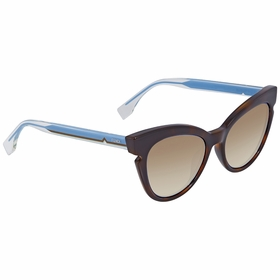 Fendi FF 132/S TRD/J6 51 Lines Ladies  Sunglasses
