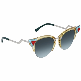 Fendi FF0041/N/S 0C1E 52 Iridia Ladies  Sunglasses