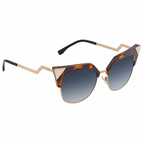 Fendi FF0149S0TLW54 Iridia Ladies  Sunglasses