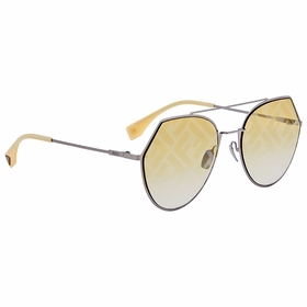 Fendi FF0194S4N1UB55 Eyeline Ladies  Sunglasses