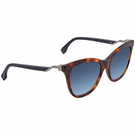 Fendi FF0200S0IPR55 FF0200S Ladies  Sunglasses