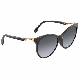 Fendi FF0209FS807HD57 Cube Ladies  Sunglasses
