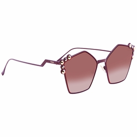 Fendi FF0261S0T73X57 Can Eye Ladies  Sunglasses