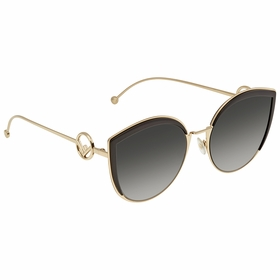 Fendi FF0290S8079O58 F is Fendi Ladies  Sunglasses