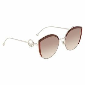 Fendi FF0290SLHFHA58 F is Fendi Ladies  Sunglasses