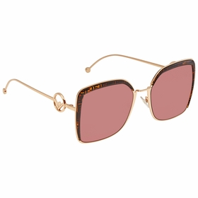 Fendi FF0294SDDB4S58 F is Fendi Ladies  Sunglasses