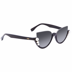 Fendi FF0297S8079O52 Ribbons and Pearls Ladies  Sunglasses