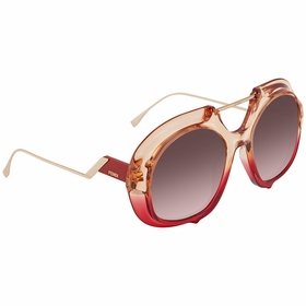 Fendi FF0316S0C4855 Tropical Shine Ladies  Sunglasses