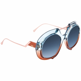 Fendi FF0316S0S9W55 Tropical Shine Ladies  Sunglasses