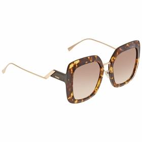 Fendi FF0317S086HA53 Tropical Shine Ladies  Sunglasses