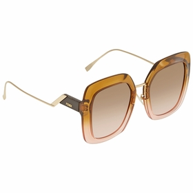 Fendi FF0317SDQ2M253 Tropical Shine Ladies  Sunglasses