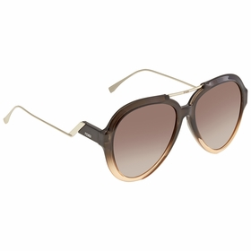 Fendi FF0322GS7HHHA58 Tropical Shine Ladies  Sunglasses