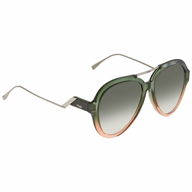 Fendi FF0322GSIWB9K58 Tropical Shine Ladies  Sunglasses
