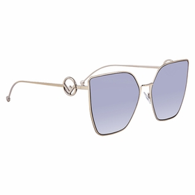 Fendi FF0323S3YGGB63 F is Fendi Ladies  Sunglasses