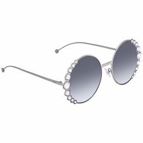 Fendi FF0324S6LB9O58 Ribbons & Crystals Ladies  Sunglasses