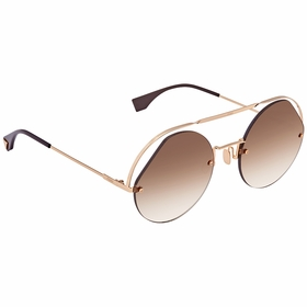 Fendi FF0325S09QHA56 Ribbons & Crystals Ladies  Sunglasses