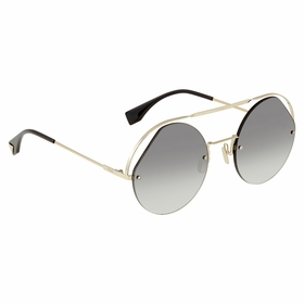 Fendi FF0325SKB79O56 Ribbons & Crystals Ladies  Sunglasses