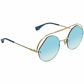 Fendi FF0325SPJPG556 Ribbons & Crystals Ladies  Sunglasses