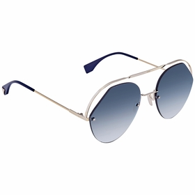 Fendi FF0326SPJP0857 Ribbons & Crystals Ladies  Sunglasses
