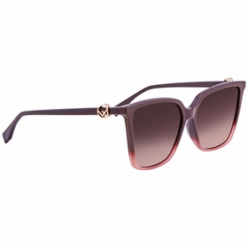 Fendi FF0330FS8CQ3X57 F is Fendi Ladies  Sunglasses