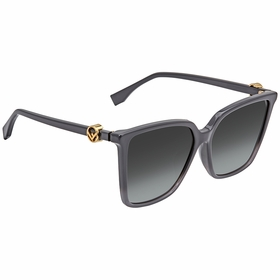 Fendi FF0330FSKB79O57 F is Fendi Ladies  Sunglasses