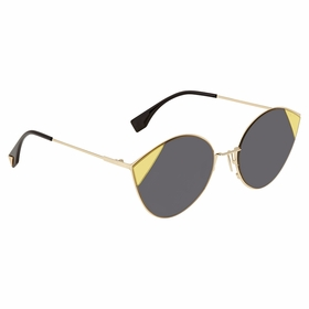 Fendi FF0341S2F7IR60 Cut Eye Ladies  Sunglasses