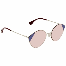 Fendi FF0341SAVBU160 Cut Eye Ladies  Sunglasses