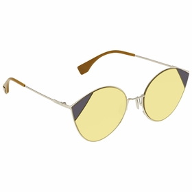 Fendi FF0341SB1ZHO60 Cut Eye Ladies  Sunglasses