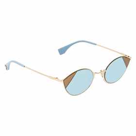 Fendi FF0342S0QWU51 Cut Eye Ladies  Sunglasses