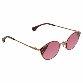 Fendi FF0342S8CQ4S51 Cut Eye Ladies  Sunglasses