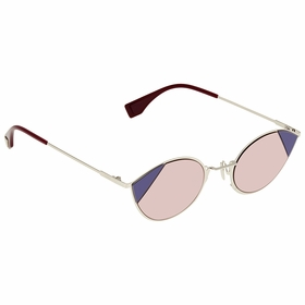 Fendi FF0342SAVBU151 Cut Eye Ladies  Sunglasses