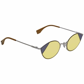 Fendi FF0342SB1ZHO51 Cut Eye Ladies  Sunglasses