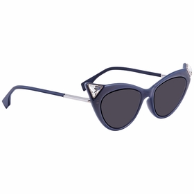 Fendi FF0356S807IR52 Iridia Ladies  Sunglasses