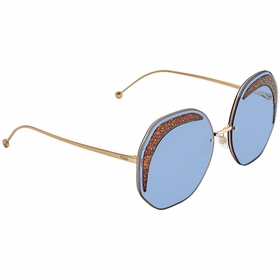 Fendi FF0358SMVUKU63 Glass Ladies  Sunglasses