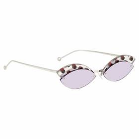Fendi FF0370S789UR58 Defender Ladies  Sunglasses